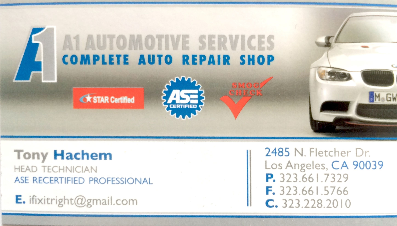 A1 Automotive Services